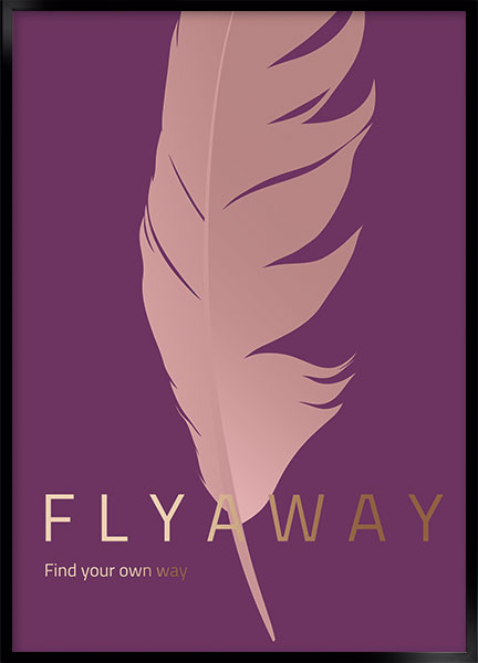 Poster - Fly away