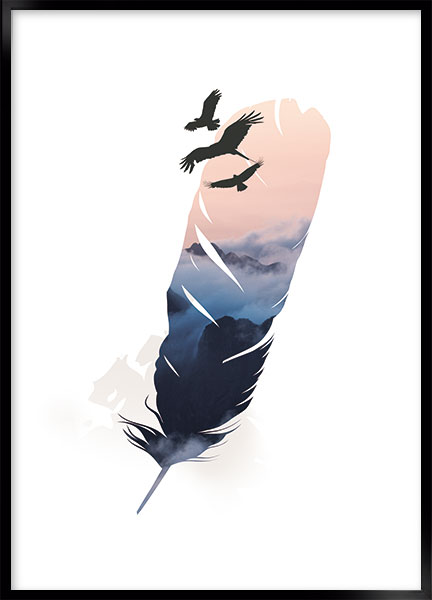 Poster - Feather