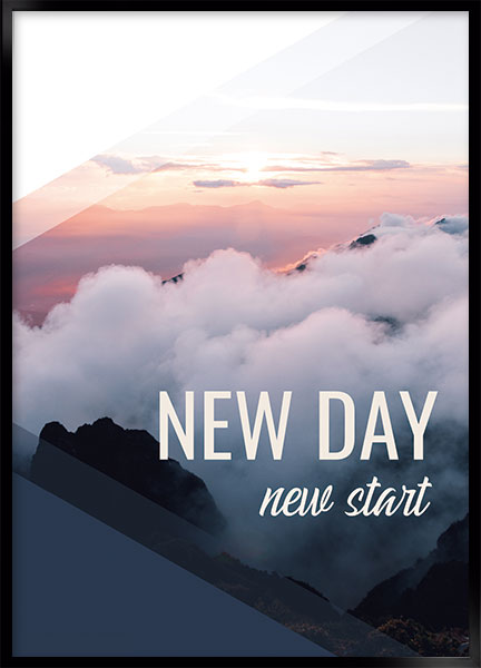 Poster - New day