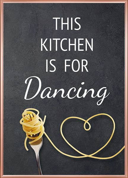 Poster - Kitchen dancing