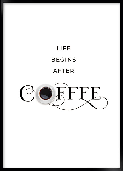 Poster - Coffee life