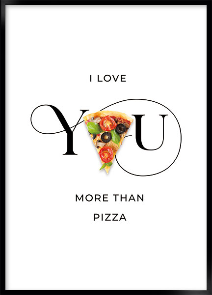 Poster - Pizza love