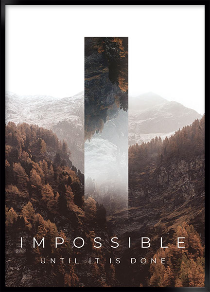 Poster - Impossible