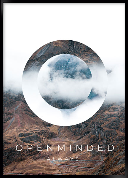 Poster - Openminded