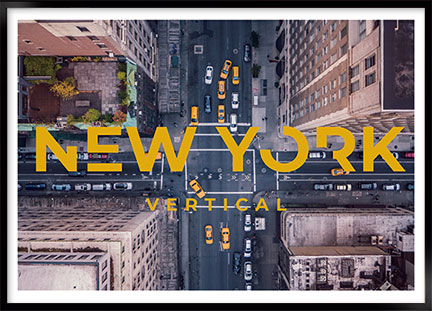 Poster - New York vertical