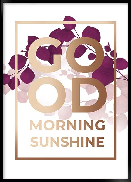 Poster - Good morning