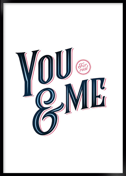 Poster - You and me