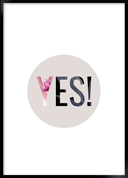 Poster - Yes