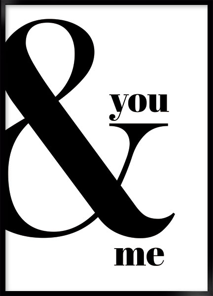 Poster - You & me